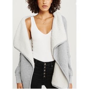 Easy Sherpa Lined Cardigan